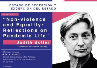 Judith Butler's conference on non-violence and equality in times of pandemic
